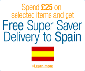 Amazon Deliver Free to Spain